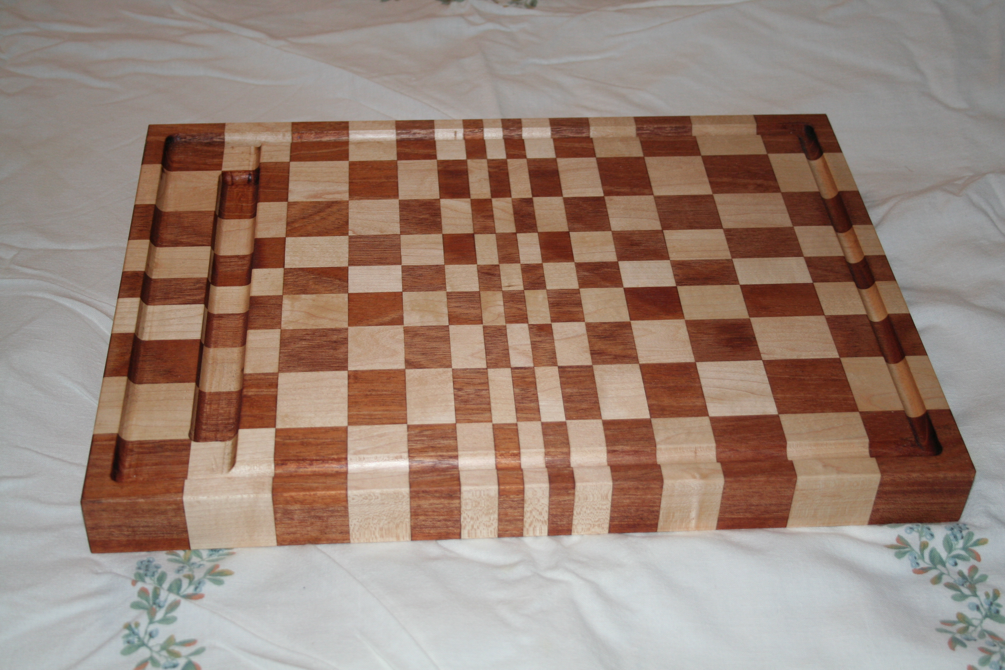 Checkered Butcher Board